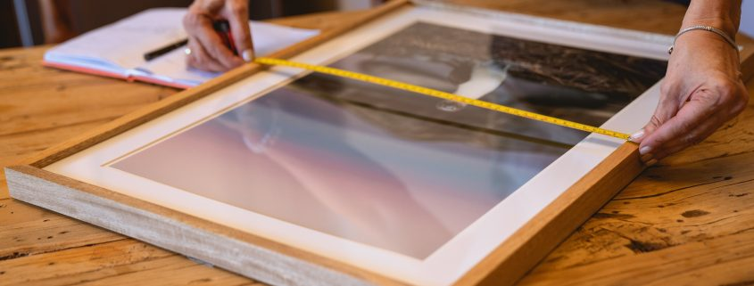 measuring picture frame